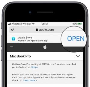 iOS Smart App Banner